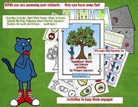 "Pete the Cat ""Applelicious"" Math & Literacy Activities"