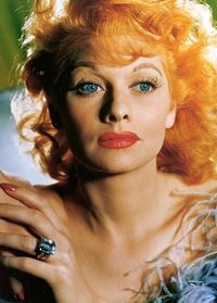 Lucille Ball- love this pic of her...
