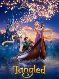 I love Tangled.... frying pan... who knew?!