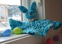 Free Pattern. Wacky Woolies and Wicked Stitches: Bunny Lovey Pattern