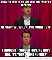 Jimmy Carr and 911
