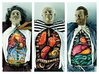 What the insides of Dali, Picasso, and Van Gogh look like