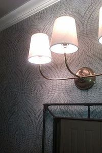 sconce for powder room