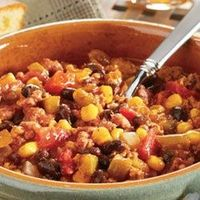 The chili recipe I use, I also add a couple of extras to make it just right!