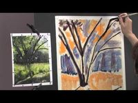 Preview Painting Realistic Landscapes in Pastel: Mixing Greens with Liz Haywood-Sullivan Now! Watch now for tips on which greens to use in shadow and in sunshine, how to underpaint, and how to use reflections and highlights for realistic effects. Visit ht...