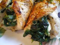 Easy! Spinach and Feta Stuffed Chicken