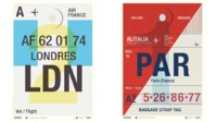 Airline tags for paul smith