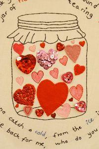 Jar of Hearts 3 by ~VickitoriaEmbroidery on deviantART