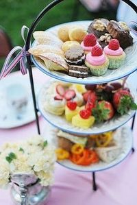 tea party goodies