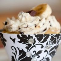 Banana Whipped Cream With Cacao Nibs