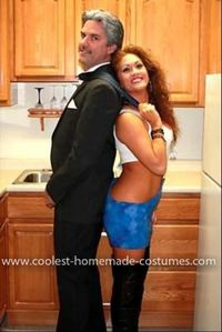 homemade vivian and edward from pretty woman couple costume