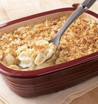 Create a cozy night in with this Mac & Cheese recipe in the Deep Covered Baker.
