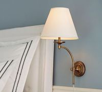Weston Arc Sconce #potterybarn