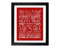 :PRINTABLE: Christmas Songs Subway Art Printables at AMatterofMemories.com
