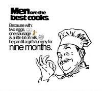 Men Are The Best Cooks- Lol Image