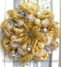 Image detail for -Holiday Deco Mesh Wreaths | Southern Charm Wreaths
