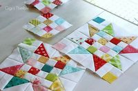 Scrap Jar Stars quilt tutorial.