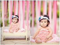 Best Photography. Ribbon Backdrops, beautiful colors for spring!