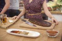 Kelsey Nixon's Cumin scented oven-baked ribs with sweet and tangy BBQ sauce