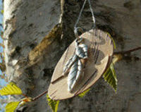 Birch Natural Wooden Necklace
