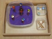 Montessori Space Unit Trays!
