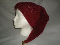 Hat Stocking Hat Red Crochet by ShelleysCrochetOle http://etsy.me/10ZlIDP via @Etsy