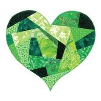 I Left My Heart in Ireland: FREE Ireland-Themed Quilt Block Pattern