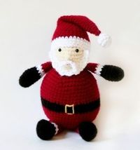 Amigurumi Holiday Santa