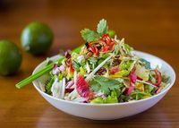 Vietnamese Chicken and Green Papaya Salad - Canuck Cuisine