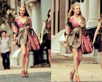 Beautiful pattern ~ Blake Lively #gossipgirl
