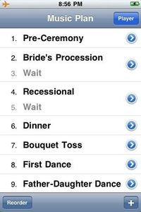 Great Idea! Running your music on an iPod can be great, but not if the wrong song comes on or the music cuts out. Thats why WeddingDJ helps you plan out all the music you need at your wedding, using the songs and playlists you have in iTunes. When the big...